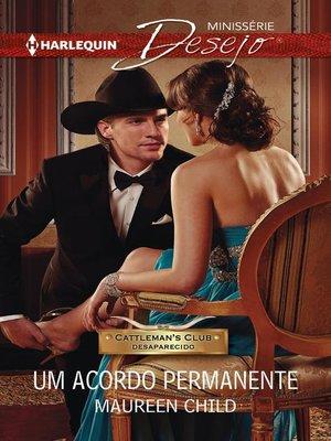 cover image of Um acordo permanente