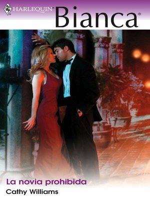 cover image of La novia prohibida