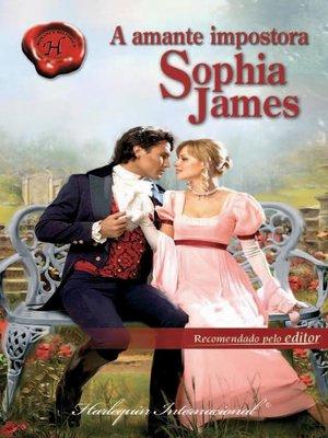 cover image of A amante impostora