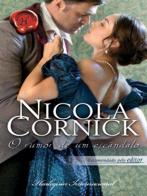 cover image of O rumor de um escândalo