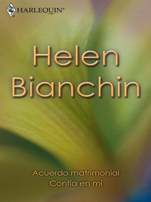 cover image of Acuerdo matrimonial/Confía en mí