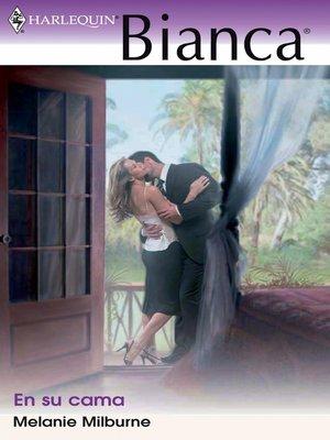 cover image of En su cama