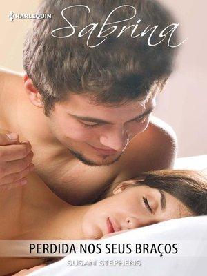 cover image of Perdida nos seus braços