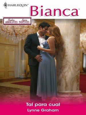 cover image of Tal para cual