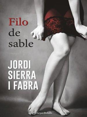 cover image of Filo de sable