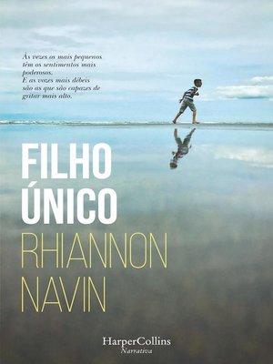 cover image of Filho único