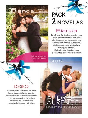 cover image of E-Pack Bianca y Deseo noviembre 2018
