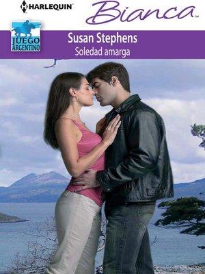 cover image of Soledad amarga