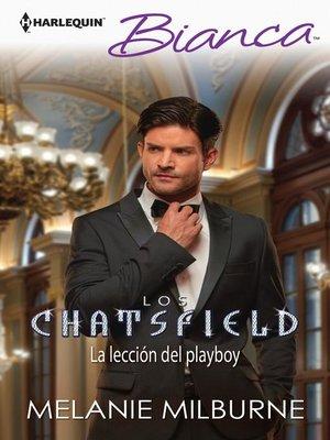 cover image of La lección del playboy