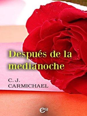 cover image of Después de la medianoche