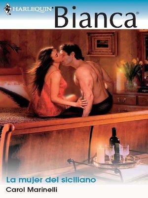 cover image of La mujer del siciliano