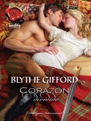 cover image of Corazón dividido