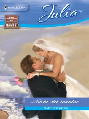 cover image of Novia sin nombre