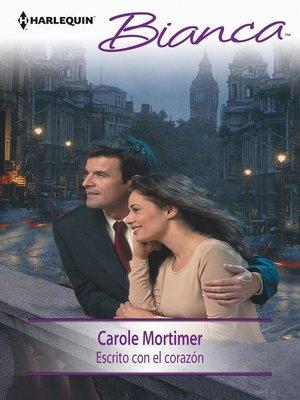 cover image of Escrito con el corazón