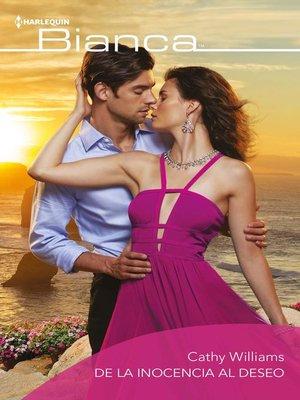 cover image of De la inocencia al deseo