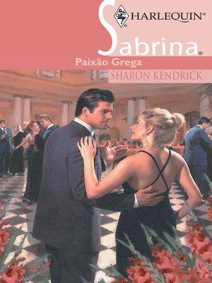 cover image of Paixão grega