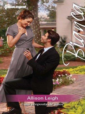 cover image of Uma proposta de amor