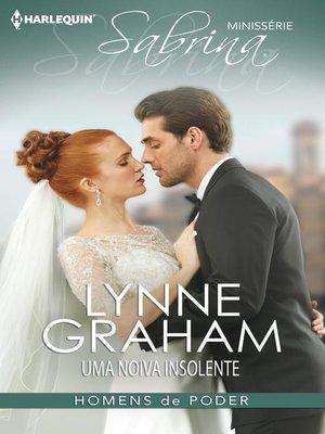 cover image of Uma noiva insolente