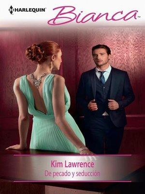 cover image of De pecado y seducción