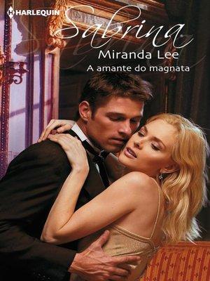 cover image of A amante do magnata