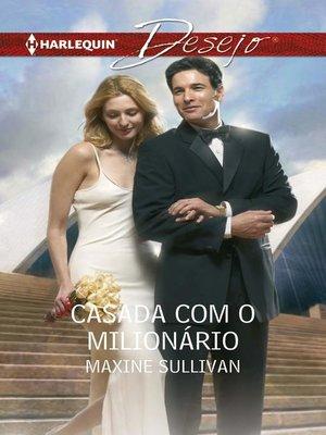 cover image of Casada com o milionário