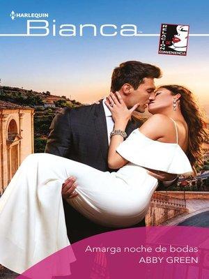 cover image of Amarga noche de bodas
