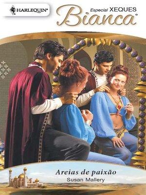 cover image of Areias de paixão