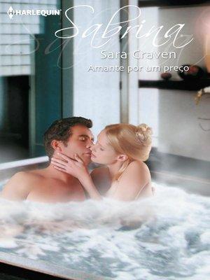 cover image of Amante por um preço