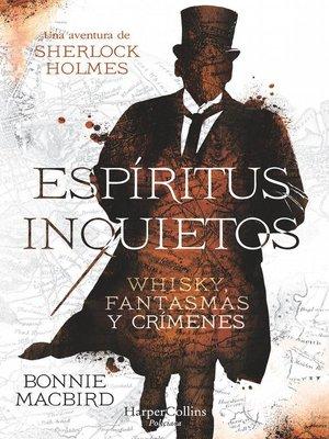 cover image of Espíritus inquietos