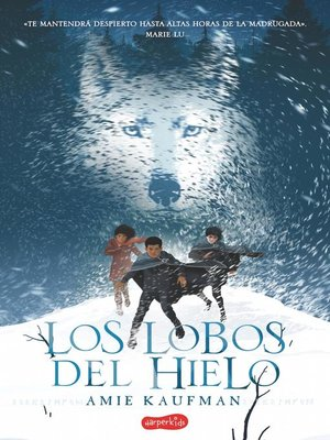 cover image of Los lobos del hielo