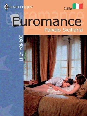 cover image of Paixão siciliana