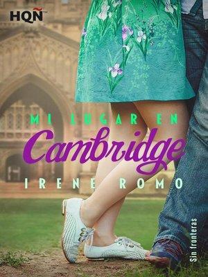 cover image of Mi lugar en Cambridge (Sin fronteras)