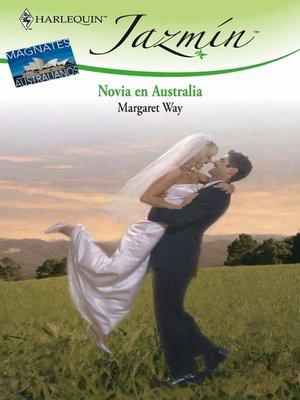 cover image of Novia en Australia