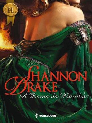 cover image of A dama da rainha