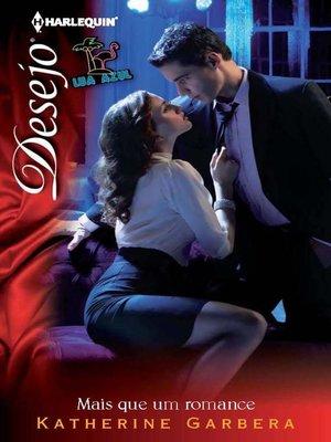 cover image of Mais que um romance
