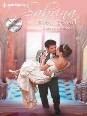 cover image of Guerra de amor
