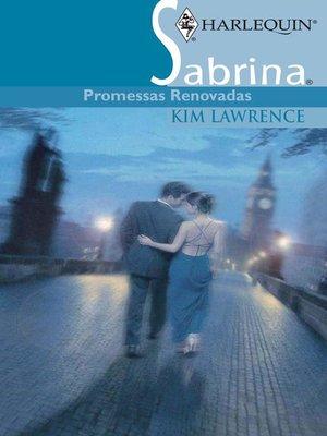 cover image of Promessas renovadas