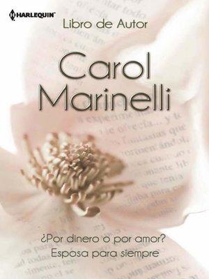 cover image of ¿Por dinero o por amor?--Esposa para siempre