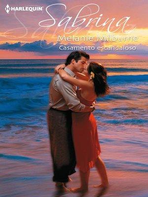 cover image of Casamento escandaloso