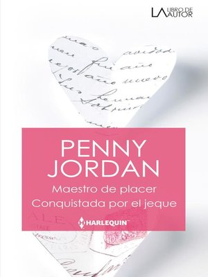 cover image of Maestro de placer--Conquistada por el jeque