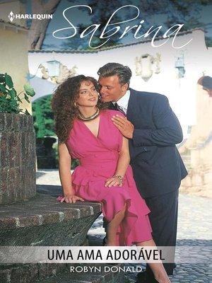 cover image of Uma ama adorável