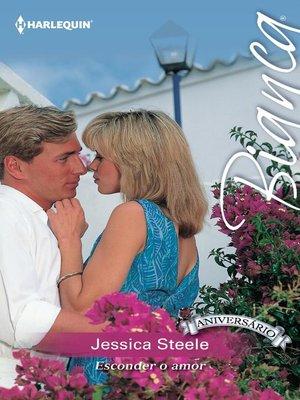 cover image of Esconder o amor