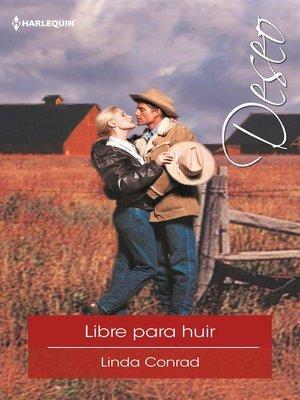 cover image of Libre para huir
