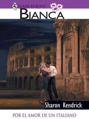 cover image of Por el amor de un italiano
