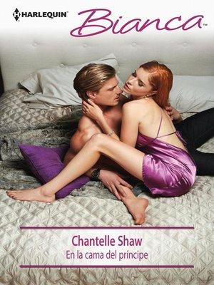 cover image of En la cama del príncipe