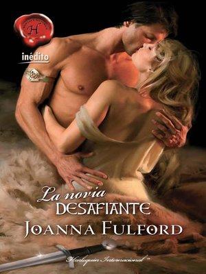 cover image of La novia desafiante