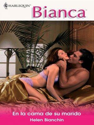 cover image of En la cama de su marido