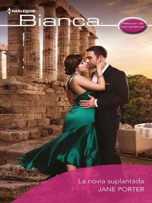cover image of La novia suplantada