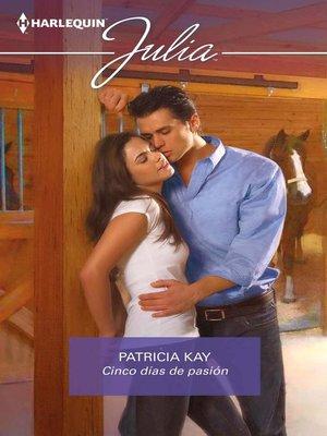 cover image of Cinco días de pasión