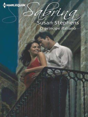 cover image of O príncipe italiano